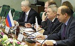 Первый вице-спикер СФ А. Торшин провел встречу сПослом Боснии иГерцеговины вРФ И. Барбаличем