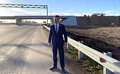 И. Ялалов принял участие воткрытии движения поучастку федеральной автодороги М5 «Урал» вБуздякском районе Башкортостана