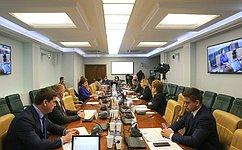 Комитет СФ посоциальной политике рассмотрел ряд федеральных законов