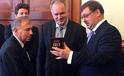 Российские ивенгерские парламентарии выступили заразвитие экономического сотрудничества между Евросоюзом иЕАЭС