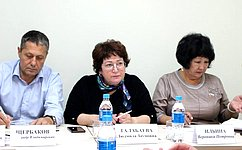 Л. Талабаева провела прием граждан вХасанском муниципальном районе Приморского края