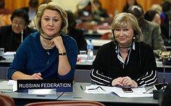 Л. Гумерова представила наАссамблее МПС вЖеневе опыт России подостижению целей устойчивого развития