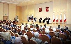 Н. Тихомиров: Институт старост– одна изэффективных форм местного самоуправления вВологодской области