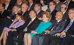 В. Матвиенко выступила наоткрытии IV Бакинского международного гуманитарного форума