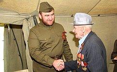 Сенатор отКарачаево-Черкесской Республики Рауф Арашуков организовал торжественный прием ветеранов Великой Отечественной Войны