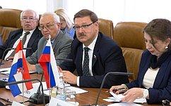 К.Косачев: Необходимо развивать российско-хорватские межпарламентские связи