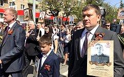 Николай Журавлев принял участие впраздничных мероприятиях, которые прошли вДень Победы вКостроме