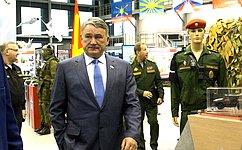 Заместитель Председателя СФ Ю.Воробьев принял участие врасширенном заседании коллегии Министерства обороны РФ
