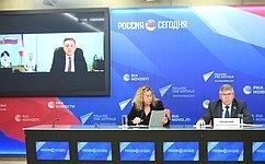 В. Рязанский подвел итоги работы Комитета СФ посоциальной политике завесеннюю сессию