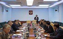 В. Джабаров иС. Жиряков провели встречу сделегацией парламентариев Лаоса