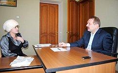 С.Белоусов: Сам факт обращения избирателей говорит одоверии населения власти
