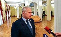 Сенатор Сергей Мартынов призвал вместе определить будущее России