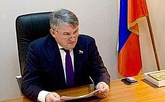 Ю. Воробьев провел прием граждан врегионе