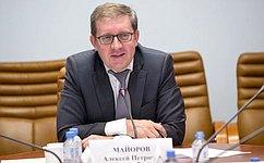 А. Майоров: Актуальность законодательного регулирования всфере защиты иответственного обращения сживотными невызывает сомнений