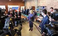 В. Матвиенко: Президентская избирательная кампания вРоссии была организована эффективно