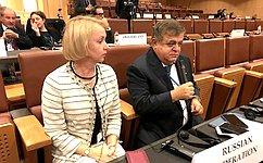 В.Джабаров: Винтересах всех участников ПА ОБСЕ сделать миропорядок более справедливым идемократичным