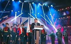 Ю.Воробьев выступил намероприятии, посвященном 90-летию образования ДОСААФ России