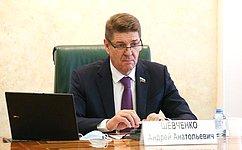 А. Шевченко провел заседание Комитета СФ пофедеративному устройству, региональной политике, местному самоуправлению иделам Севера