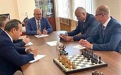 О. Цепкин: Число участников проекта «Шахматный Всеобуч» вмуниципалитетах Челябинской области постоянно расширяется