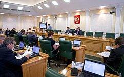 Комитет СФ побюджету ифинансовым рынкам рекомендовал палате одобрить закон, касающийся инвестиций вкапстроительство