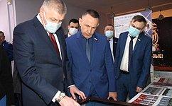 О. Алексеев посетил Энгельсский муниципальный район Саратовской области