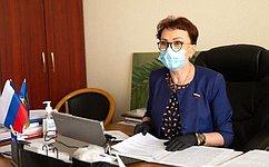 Т. Кусайко: Напряжённая работа медицинских работников поборьбе скоронавирусом продолжается