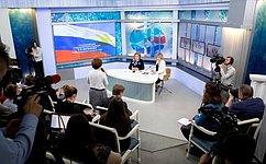 В.Матвиенко: Законодательные инициативы сенаторов помогают решать проблемы регионов