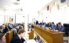Н.Журавлев принял участие взаседании Костромской областной Думы, посвященном итогам деятельности администрации в2016году