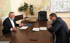 В. Наговицын обсудил вопросы работы Фонда капремонта вБурятии