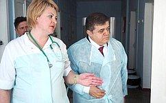 В.Джабаров провел вЕАО встречи сруководством силовых ведомств, атакже побеседовал ссотрудниками медучреждений