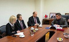 В. Тимченко: ВРоссии существует большой интерес кразвитию отношений сословацкими партнерами