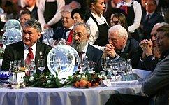 Ю. Воробьев принял участие вцеремонии награждения лауреатов премии Русского географического общества