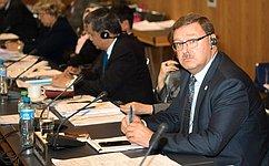 К. Косачев: Межпарламентский союз становится для России очень важной площадкой
