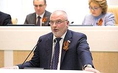 СФ освободил C.Фридинского отдолжности заместителя Генпрокурора РФ– Главного военного прокурора