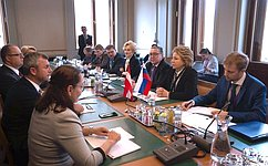 Все больше граждан Европы высказываются завосстановление отношений исотрудничества сРоссией— В.Матвиенко