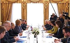 Россия нацелена надальнейший диалог сПА ОБСЕ поантитеррористической проблематике— В.Матвиенко