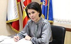М.Павлова провела прием граждан вЧелябинской области