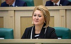 Л.Гумерова избрана председателем Комитета СФ понауке, образованию икультуре