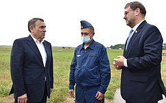 К. Косачев: Ситуация слесными пожарами вРеспублике Марий Эл стабильна инаходится наконтроле регионального правительства