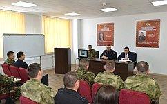 Войска Росгвардии обеспечивают порядок наособо важных ирежимных объектах– В.Полетаев