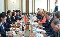 Российские ивьетнамские парламентарии ведут интенсивный диалог— Председатель СФ