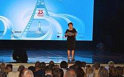 Е. Алтабаева приняла участие воткрытии кинофестиваля «ПОБЕДИЛИ ВМЕСТЕ» ВСевастополе