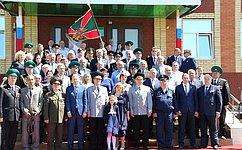 С. Попов принял участие вмероприятии, посвященном присвоению погранзаставе имени Героя Советского Союза Николая Николаевича Лукашева