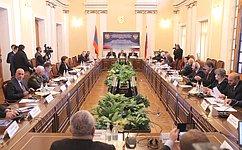 ВЕреване прошло совместное заседание международных комитетов Совета Федерации иНационального Собрания Армении