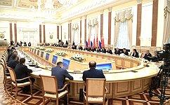 В. Матвиенко приняла участие взаседании Высшего Государственного Совета Союзного государства России иБелоруссии