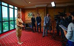 Председатель Законодательного совета Брунея подтвердил намерение посетить Россию— В.Матвиенко