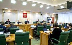 Комитет СФ поконституционному законодательству игосударственному строительству представит палате отчет оработе за2018год