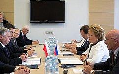 В. Матвиенко: Форум регионов России иПольши— ценный инструмент сотрудничества двух стран