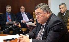 С.Калашников провел расширенное заседание Временной комиссии СФ помониторингу экономического развития