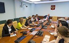 Совет Федерации– это прежде всего палата регионов, где уделяется особое внимание теме прав коренных народов— А. Клишас